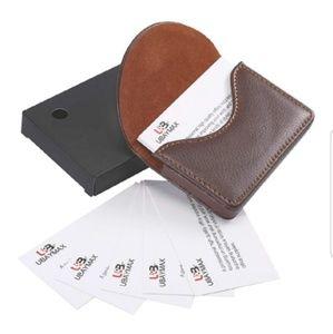 Other - 🆕️Leather Business or Credit Card Holder/Wallet🆕